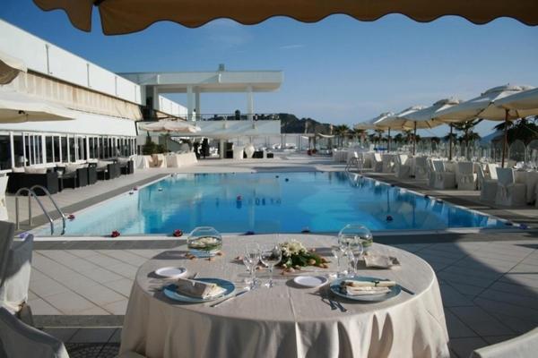 Kanath eventi bacoli napoli - Villa mirabilis piscina ...