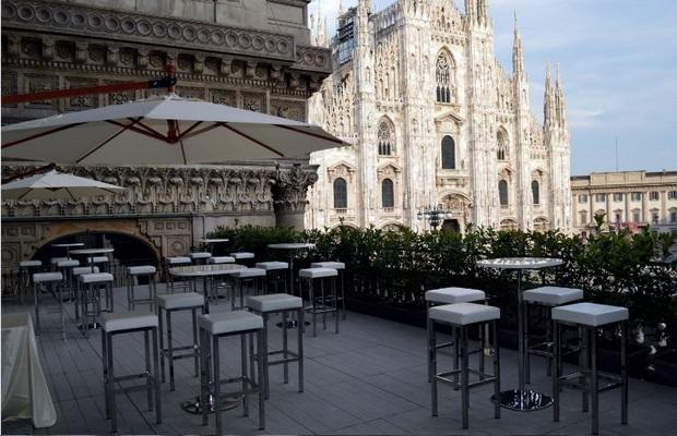 Terrazza townhouse milano for Hotel manin milano
